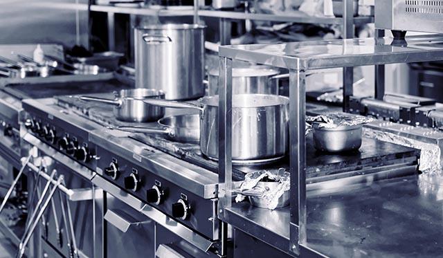 厨房機器の故障 写真